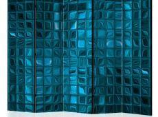 Paraván - Azure Mosaic II [Room Dividers]